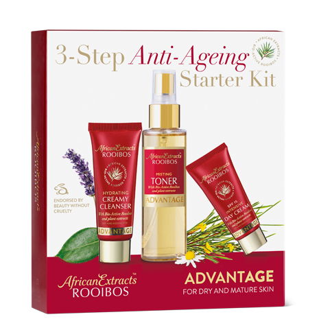 African Extracts Rooibos Skin Care - Advantage Starter Kit