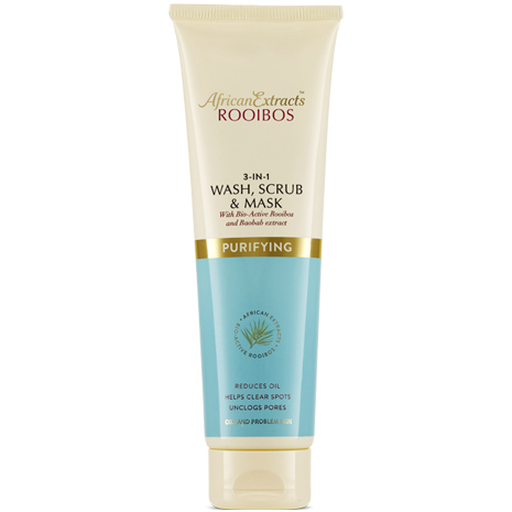 African Extracts Rooibos Skin Care - Wash, Scrub and Mask