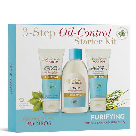 African Extracts Rooibos Skin Care - Purifying Starter Kit