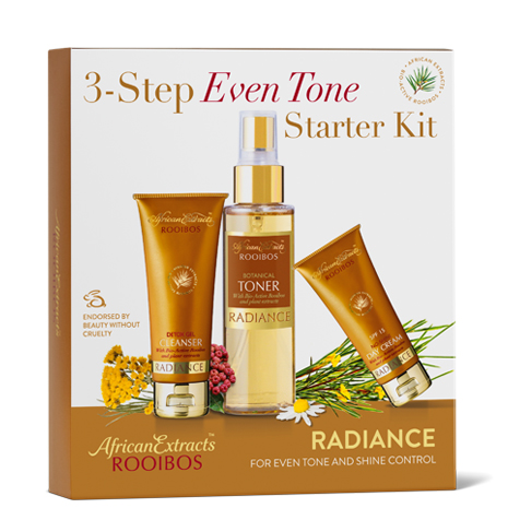 African Extracts Rooibos Skin Care - Radiance Starter Kit