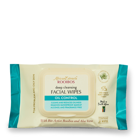 African Extracts Rooibos Skin Care - Facial Wipes - Spot Control